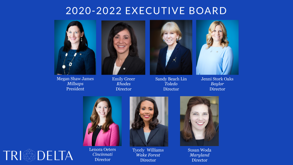 2020-2022 Executive Board Headshots